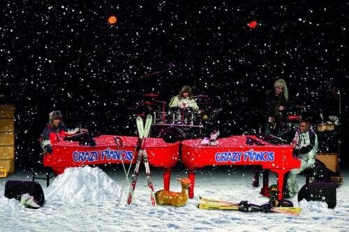 Crazy Pianos - Lets Go Crazy - Snow-editie