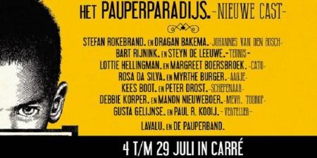 Carré en Rijksmuseum werken samen voor theaterstuk Pauperparadijs