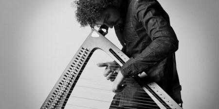 Harpist Remy van Kesteren: 'Leven zonder harp is de hel.'