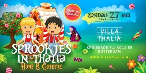 Suikerzoet sprookje in Villa Thalia Rotterdam