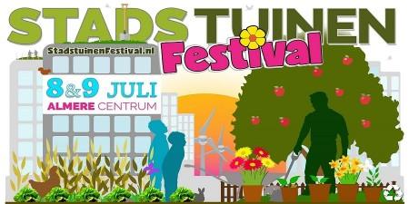 Stadstuinenfestival Almere trekt 50.000 bezoekers
