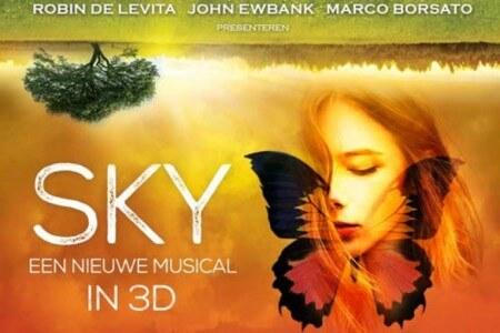 3D musical SKY visuele totaalbeleving