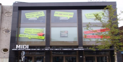 'Behoud gevel Midi Theater'