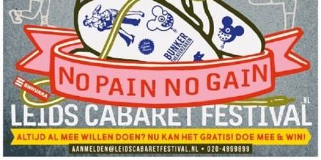 Leids Cabaret Festival start inschrijvingen 41e editie