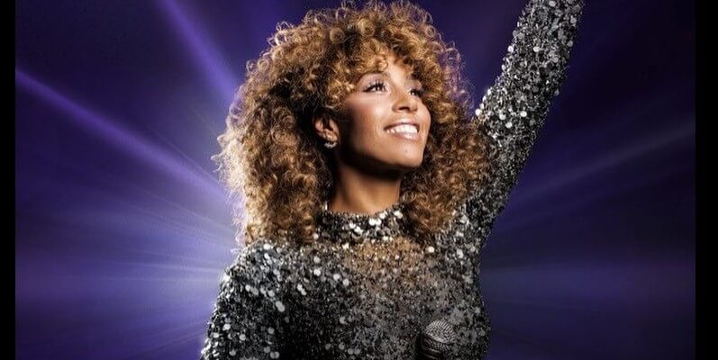Glennis Grace naar België met Whitney Houston-tribute