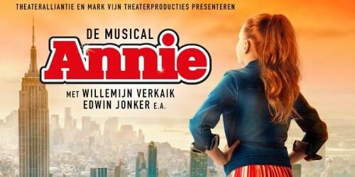 Wereldprimeur voor Nederlandse musical Annie