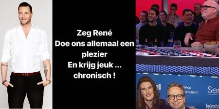 Fred van Leer woedend om kwetsende opmerking René van der Gijp