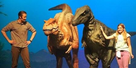 Jurassic Revenge houdt audities voor dinosaurus-rol