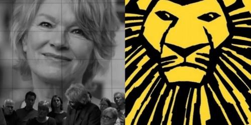 Musical The Lion King draagt avond op aan Martine Bijl