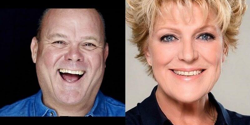 Na bijna dertig jaar: Paul de Leeuw en Simone Kleinsma weer samen op het podium
