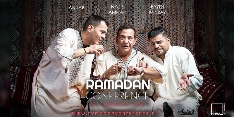 Najib Amhali maakt Ramadan conference