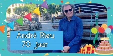 André Rieu viert 70ste verjaardag!