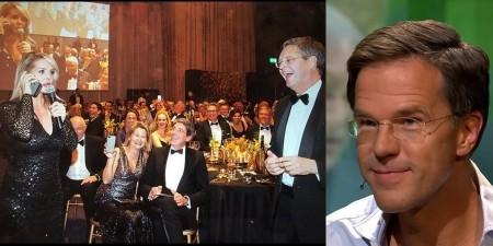 Oelala: Chantal Janzen doet Mark Rutte een oneerbaar voorstel