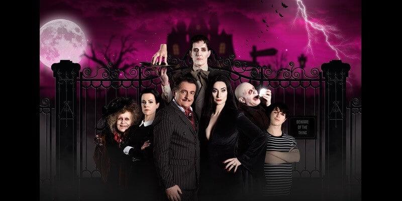 Volledige Addams Family bekend