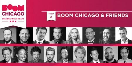 Boom Chicago viert verjaardag met Arjan Lubach