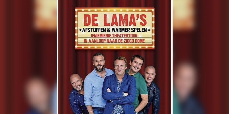 De Lama's gaan langs theaters op weg naar Ziggo Dome