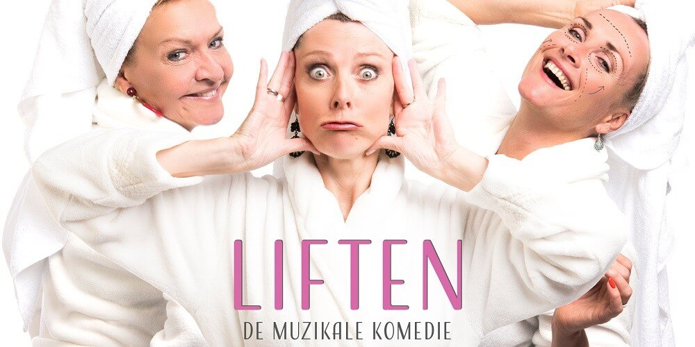 Muzikale komedie Liften weer in het theater