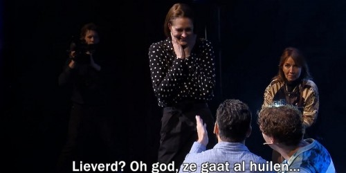 Marc de Hond doet huwelijksaanzoek tijdens show Jochem Myjer!