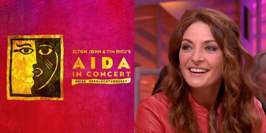 Willemijn Verkaik in musical Aida in Concert