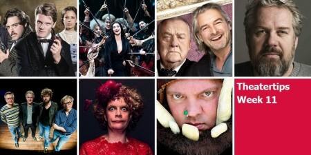 Theatertips: Brigitte Kaandorp en nog veel meer!