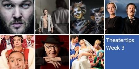 Theatertips: Arjen Lubach, Cats en nog veel meer!