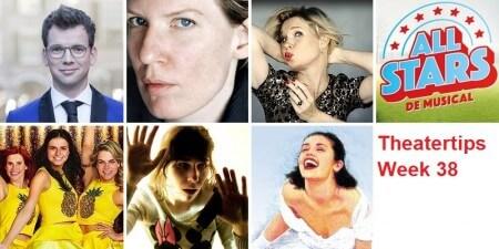 Theatertips voor week 38: Prinsjescabaret, All Stars, Mamma Mia en meer!
