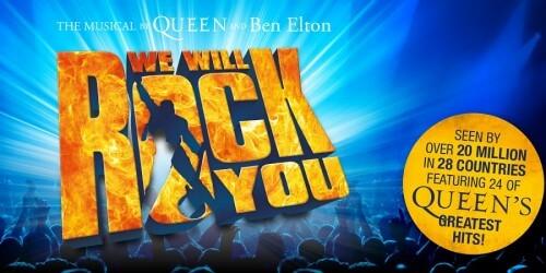 Stanley Burleson speelt hoofdrol in We Will Rock You
