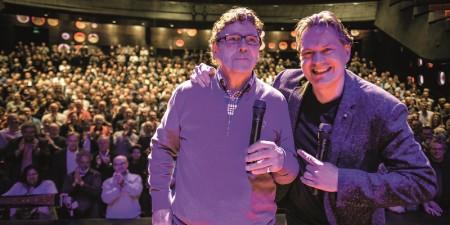 Willem van Hanegem: de Kromme gaat het theater in