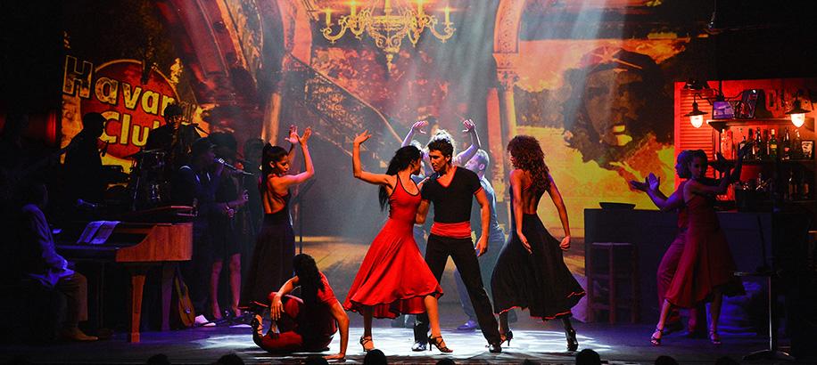 Soy de Cuba dans en muziekspektakel.