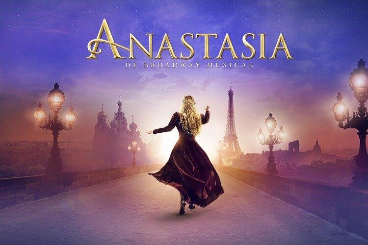 Tijdelijk € 20,- voordeel op de musical Anastasia