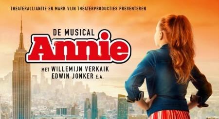 Annie de Musical gaat ook naar België