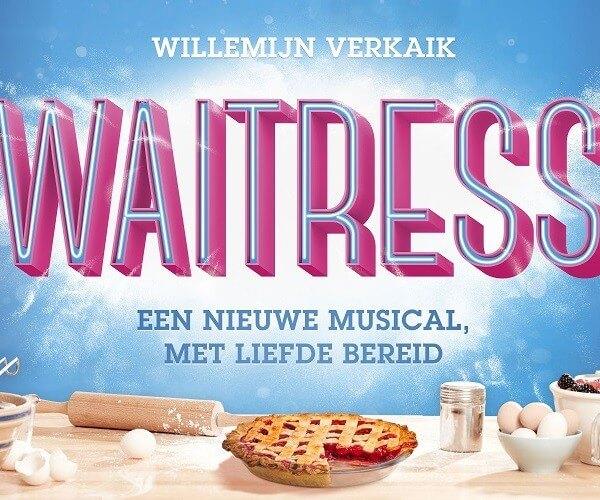 Musical Waittress met Willemijn Verkaik in de hoofdrol aangekondigd