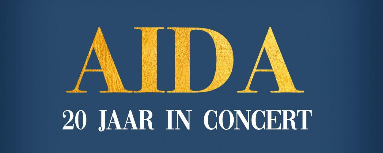 Campagnebeeld Aida 20 jaar in concert