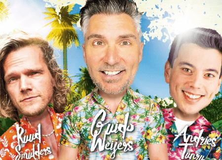 Guido Weijers, Sjaak Bral en Douwe Bob op line-up Zuiderpark Live