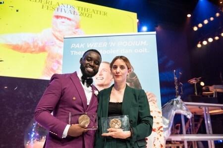Naomi Velissariou en Emmanuel Ohene Boafo winnen Theo d'Or en Louis d'Or