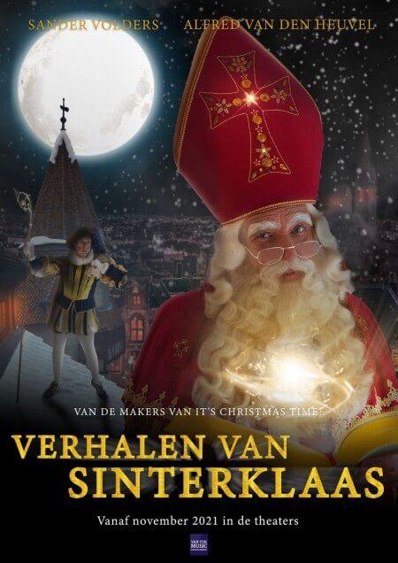 Alfred van den Heuvel speelt in 2021 goedheiligman in Verhalen van Sinterklaas