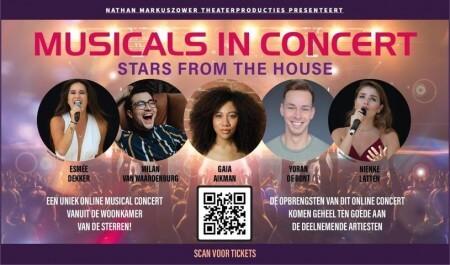 Geniet van musicalhits tijdens online show Musicals in Concert