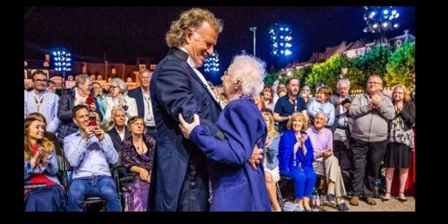 André Rieu in diepe rouw