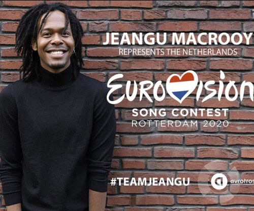 Jeangu Macrooy gaat naar het Eurovisie Songfestival