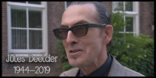 Jules Deelder (75) plotseling overleden