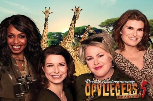 Opvliegers 5 - Op Safari een vermakelijke vriendinnencomedy.