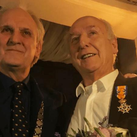 Peter Koelewijn Officier in de Orde van Oranje Nassau
