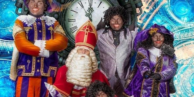 Sinterklaas verdwaalt in de tijd