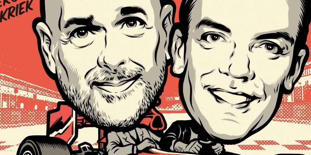 Robert Doornbos & Rob Kamphues - Grote Grand Prix Circus