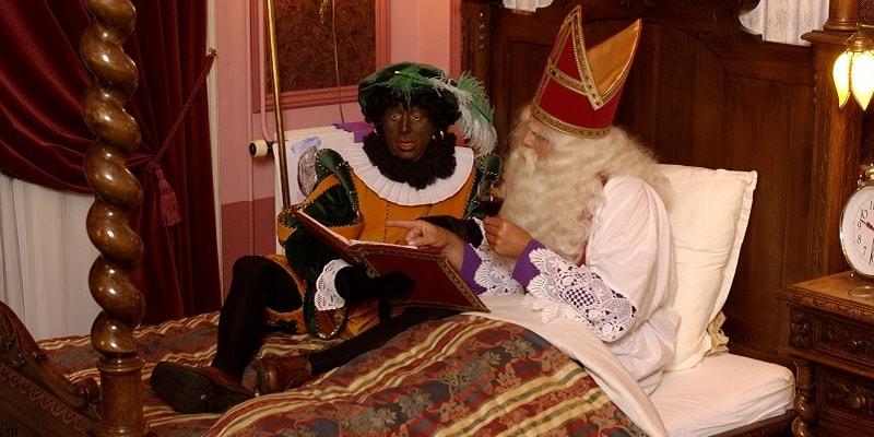 De slaapkamer van Sinterklaas