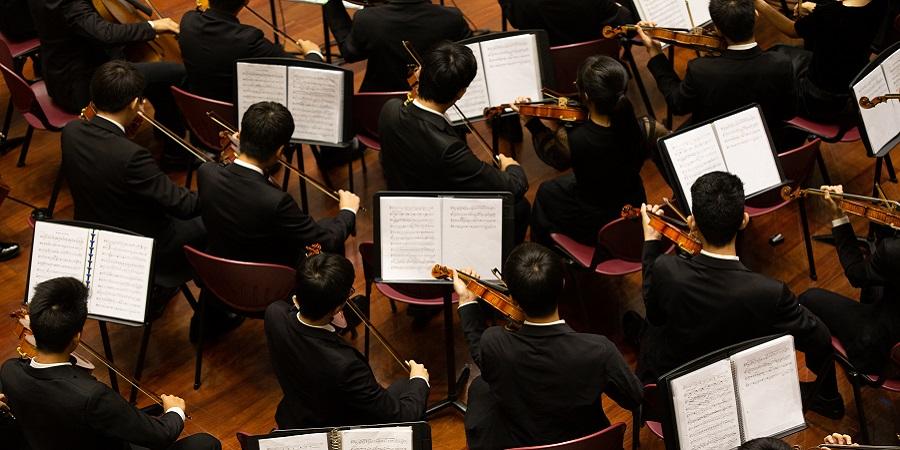 Jaap van Zweden en Simone Lamsma bij het Concertgebouworkest