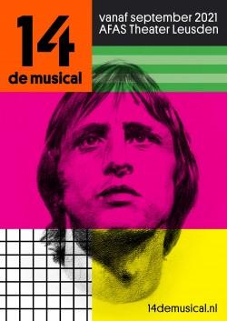Affichebeeld 14 de musical Johan Cruijff