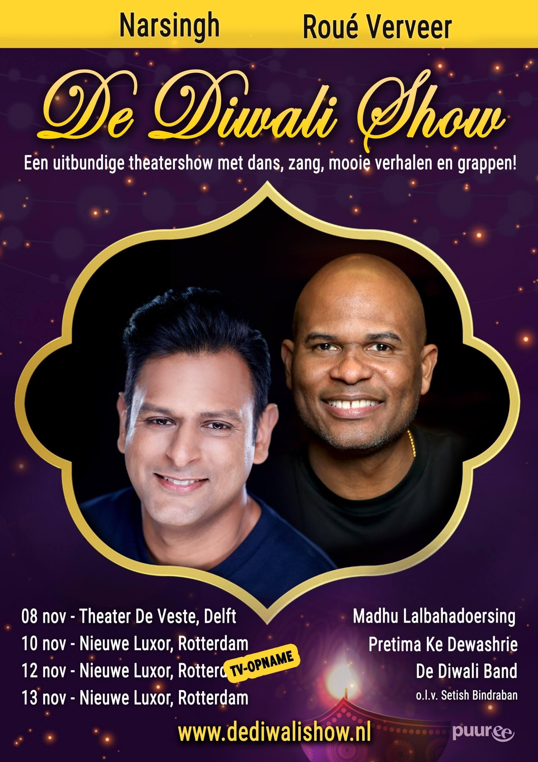 De Diwali Show