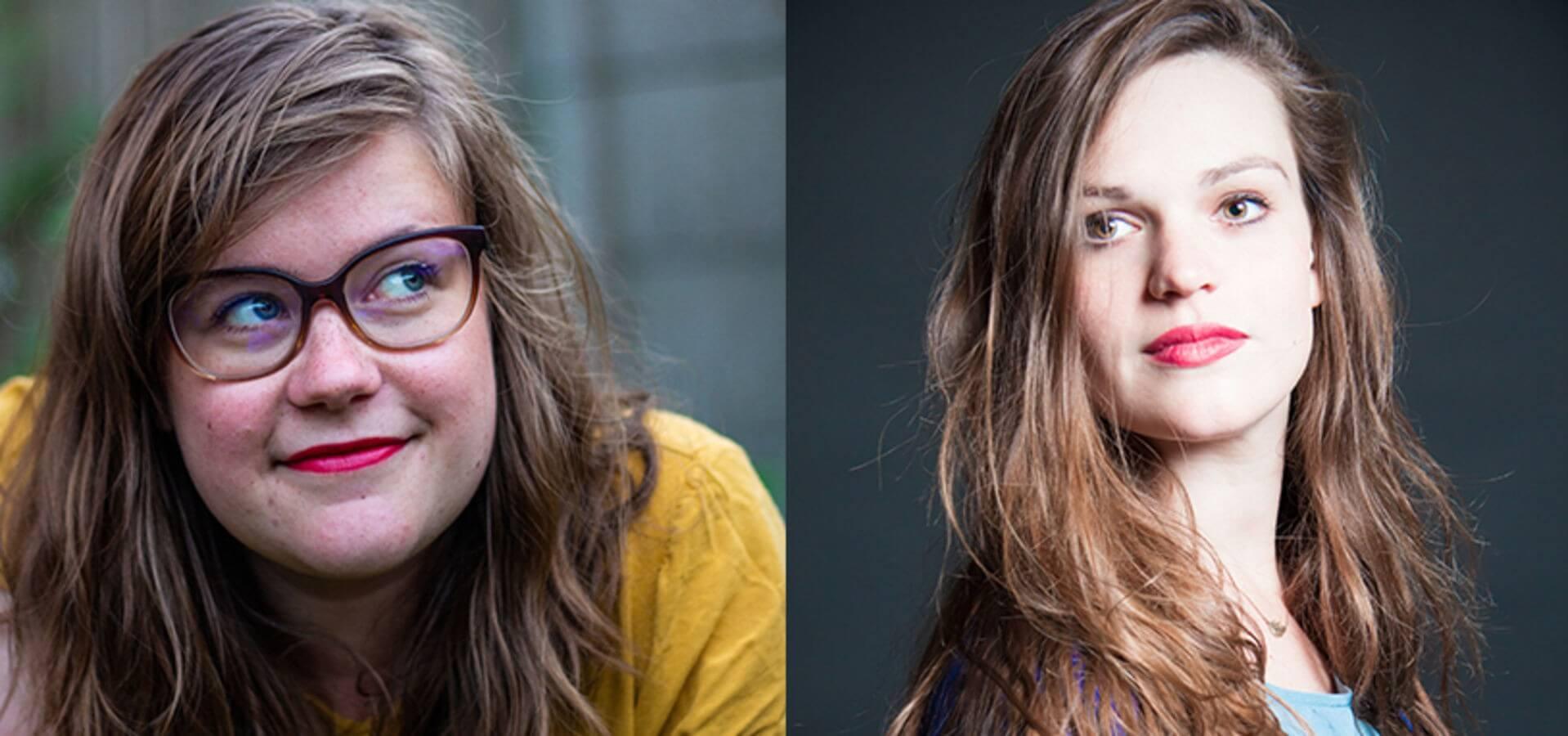 Elly Scheele en Eva Line de Boer - Foto's Karen van Dijk / Casper Koster