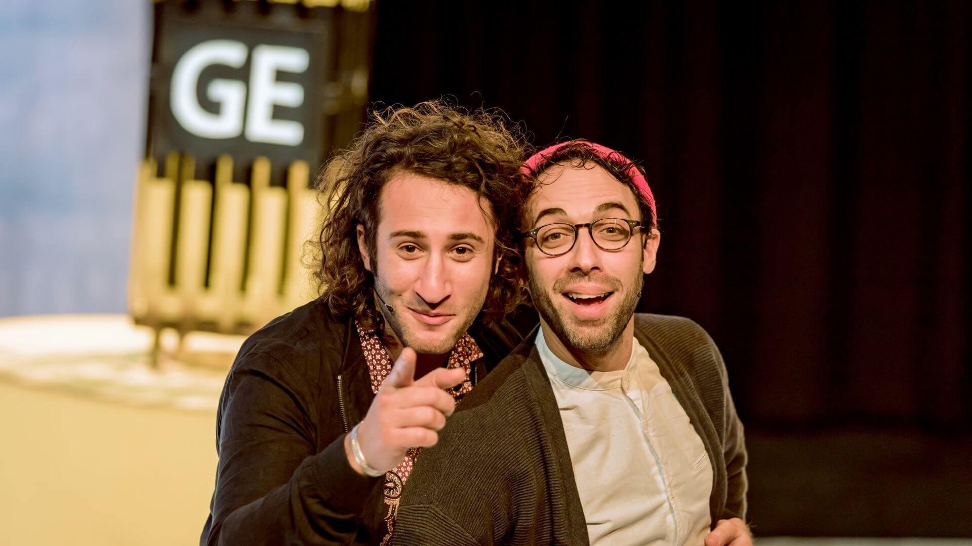 George en Eran worden racisten - Foto Yalper Productions